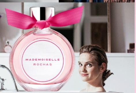 Muestra de Perfume Mademoiselle Rochas Gratis