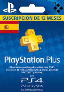 Tarjeta PSN Plus 365 Días 12 Meses 1 Año PlayStation