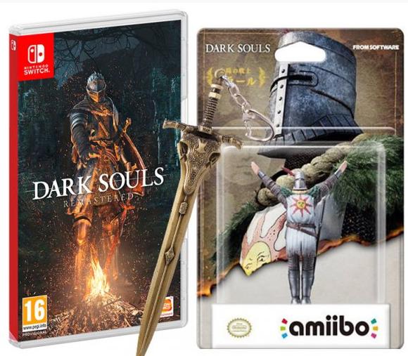 Dark Souls: Remastered + Amiibo Solaire de Astoras pasa Switch