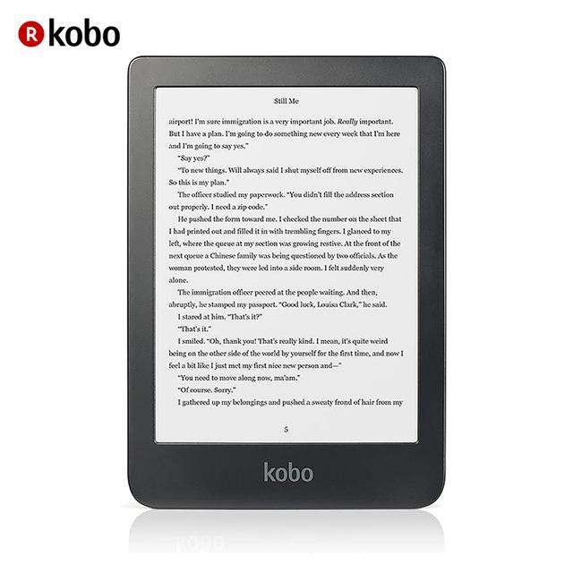 KOBO Clara HD Touchscreen 8 GB Wifi e-Book Reader (6'' E Ink Carta) Color Negro