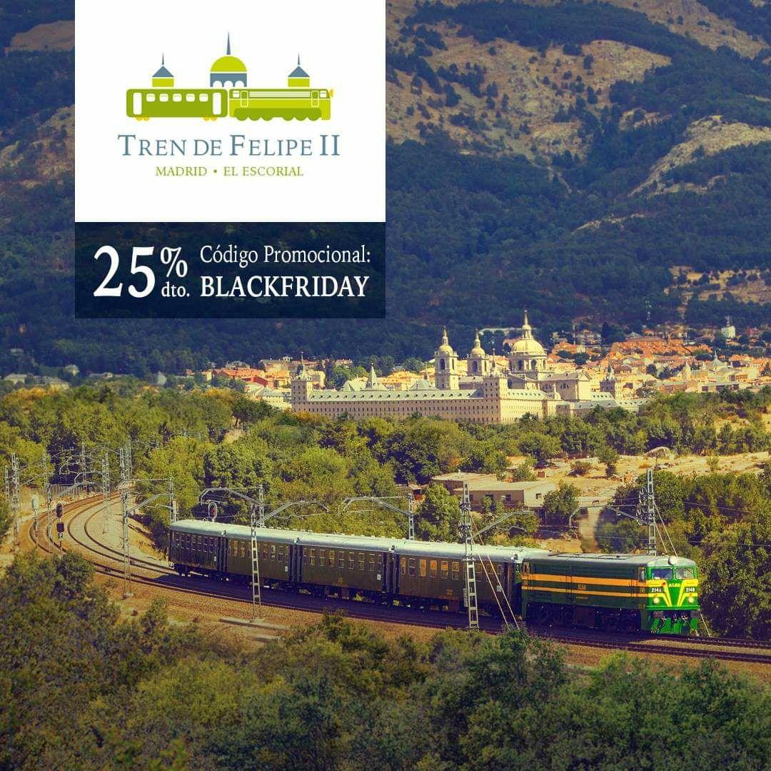 25% Descuento 2018 Tren Felipe II