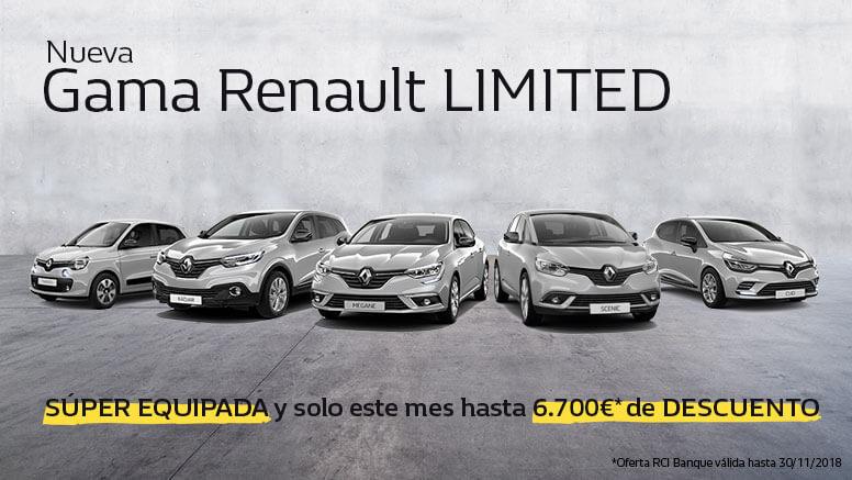 Renault. Descuento hasta 6700€ + Año seguro gratis a todo riesgo