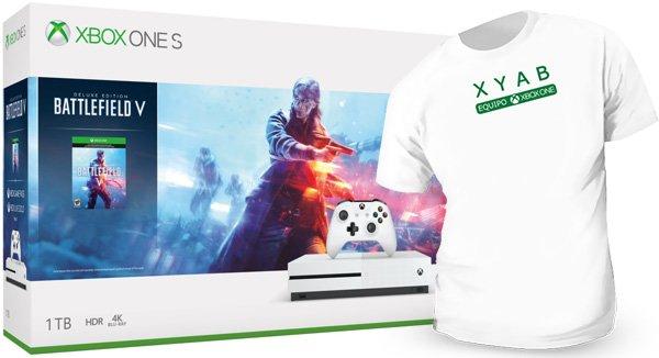 Xbox One S 1TB + Battlefield V