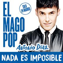 """-25% para las actuaciones de """"El Mago Pop"""""""