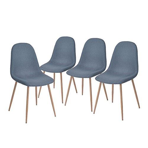 4x sillas Retro diseño Eiffel solo 39.9€