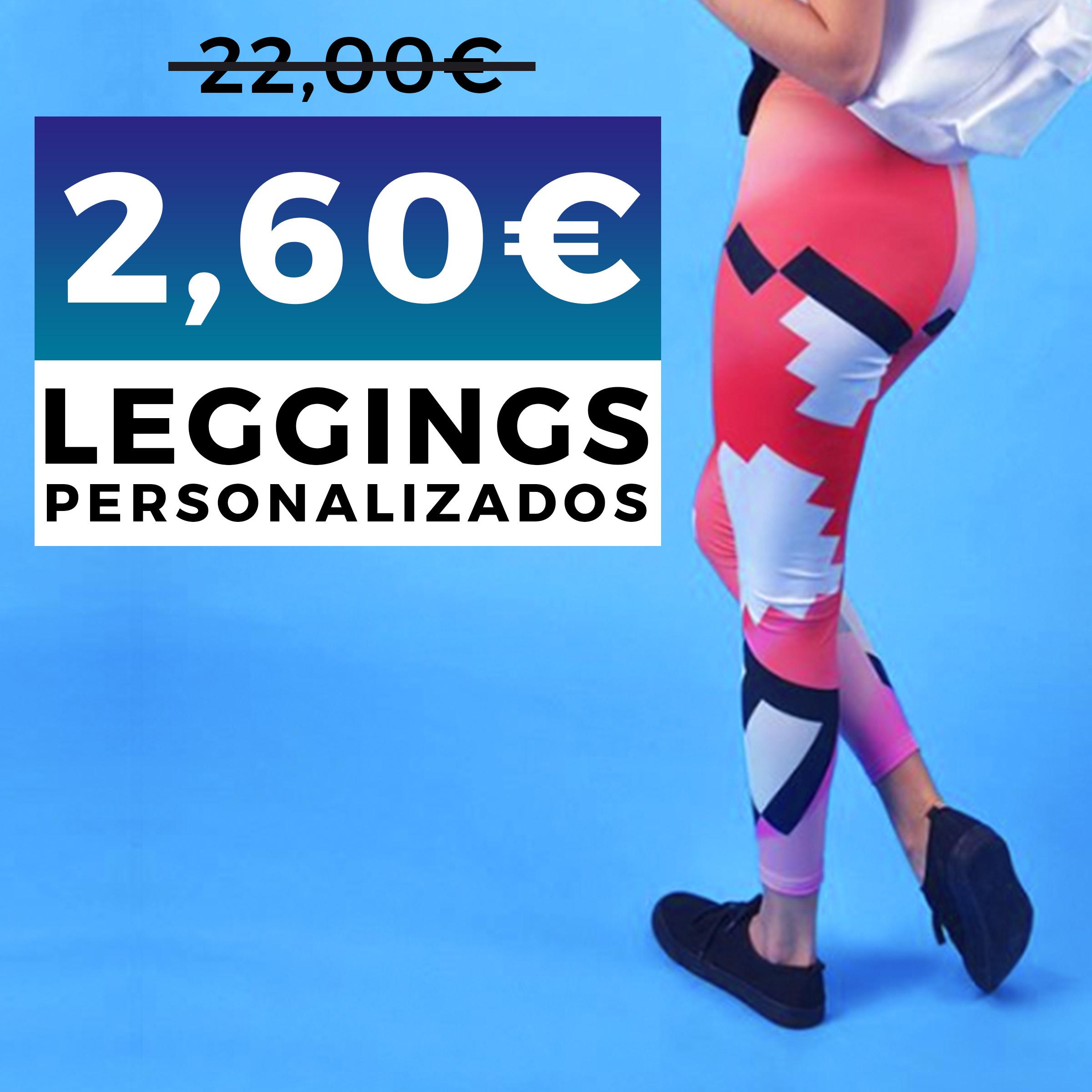 Leggings PERSONALIZADOS solo 2,60€ (Envío Incluido) (Black Friday)