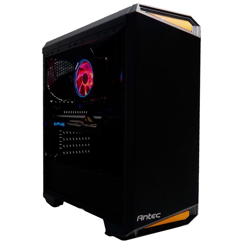 PC Gamer: R5 2600 / RX 580 (8GB) / 8GB DDR4 / SSD 250GB + HDD 1TB