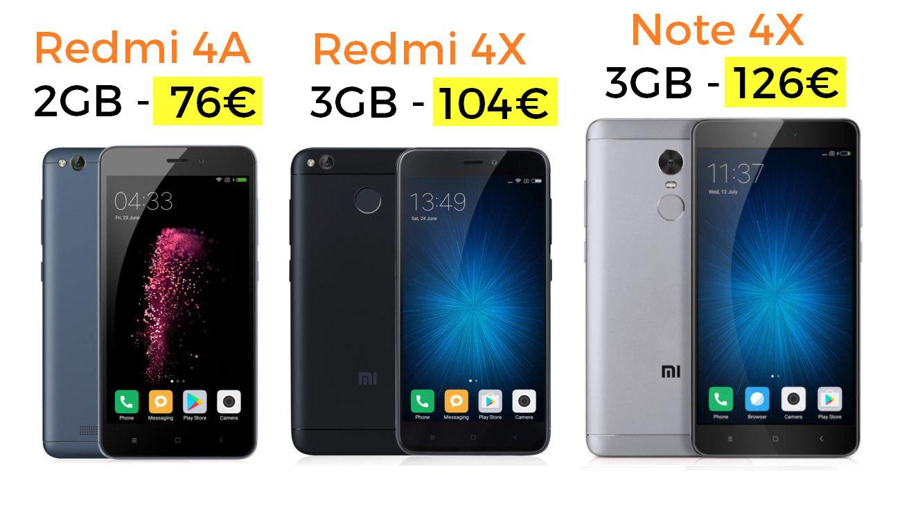 ¡Xiaomi desde España a preciazo!