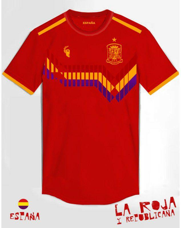 Camiseta España 198