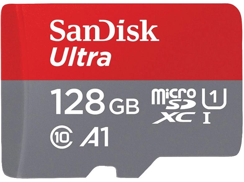 Microsd SanDisk Ultra 128GB a 22.9€