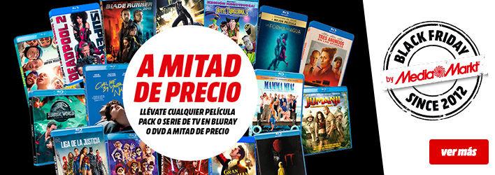 Pelis y series todo al 50% (DVD y BluRay)