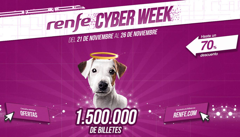 Cyber Week de Renfe