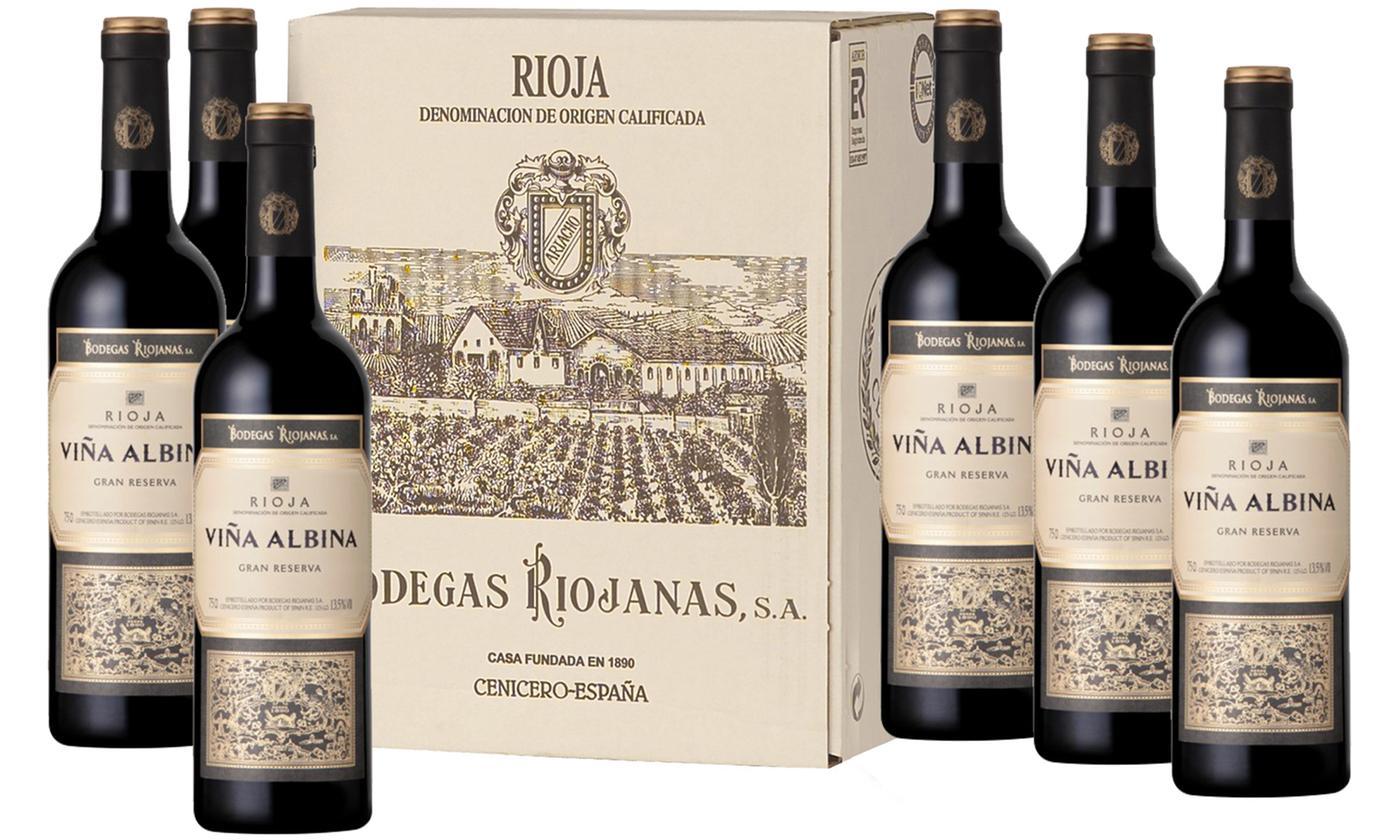 Botellas de vino bodegas riojanas