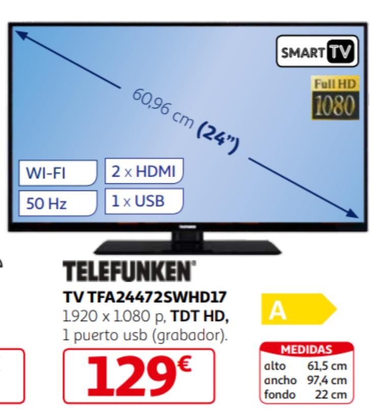 Smart TV por poco más de 100€