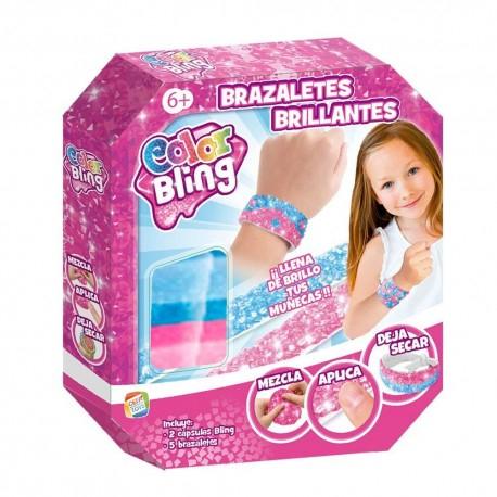 Color Bling Brazaletes Brillantes