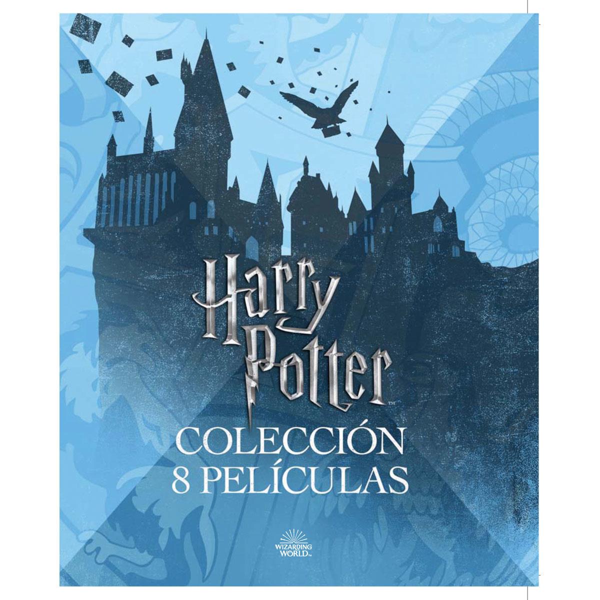 Saga Harry Potter [8 Peliculas][Blu-ray][Español]