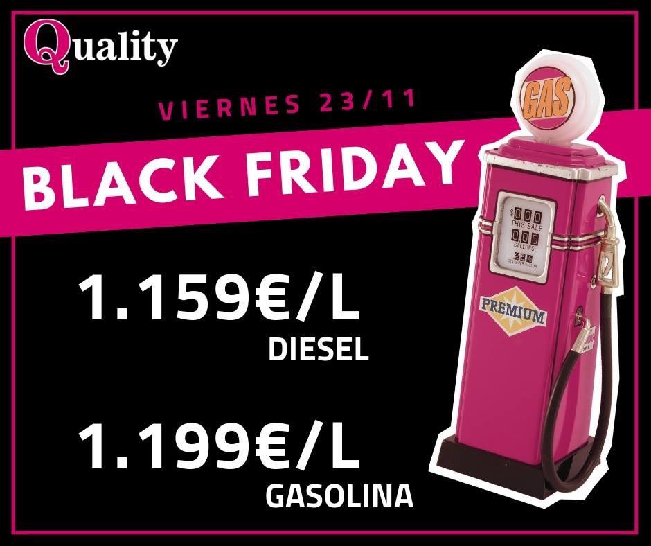 Gasolina más barata en quality