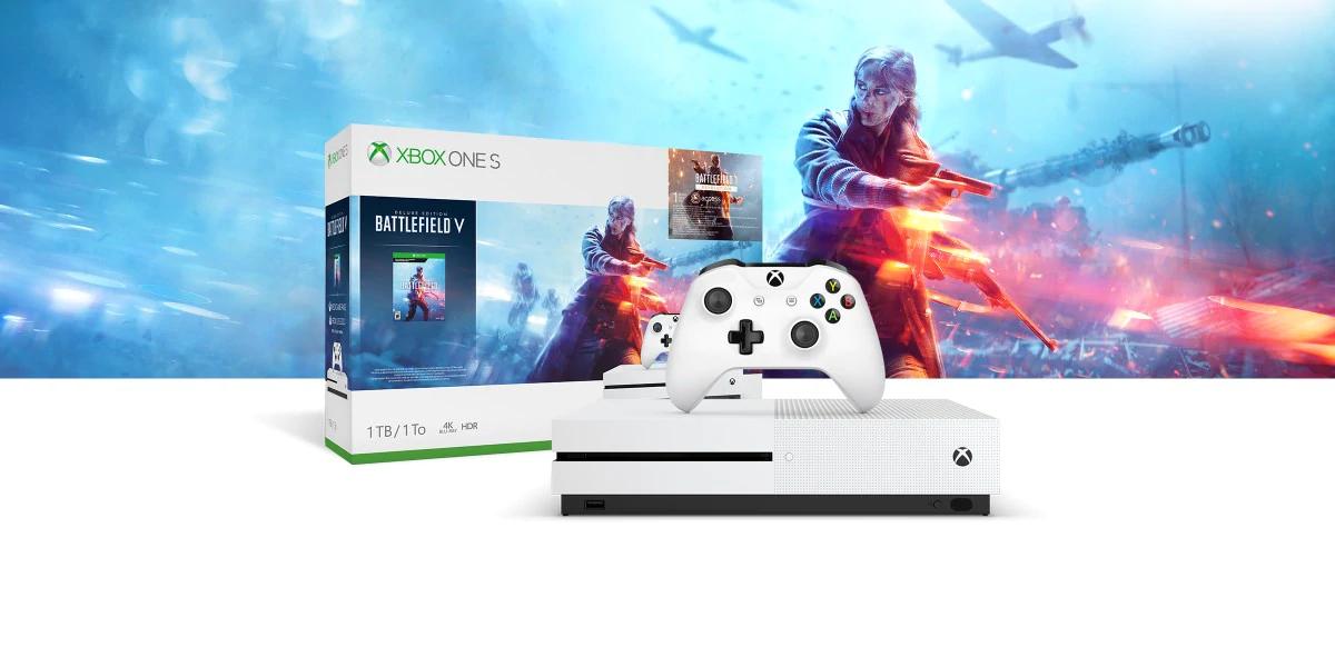 Xbox one S 1Tb + 3 juegos (Alemania Ms store)