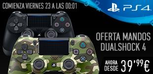 Mandos PlayStation 4 Dualshock 4