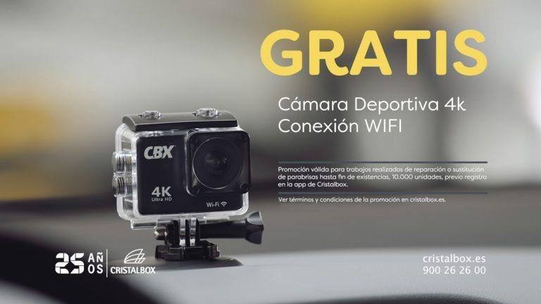 Cristalbox: Regalo de una Cámara Deportiva 4K