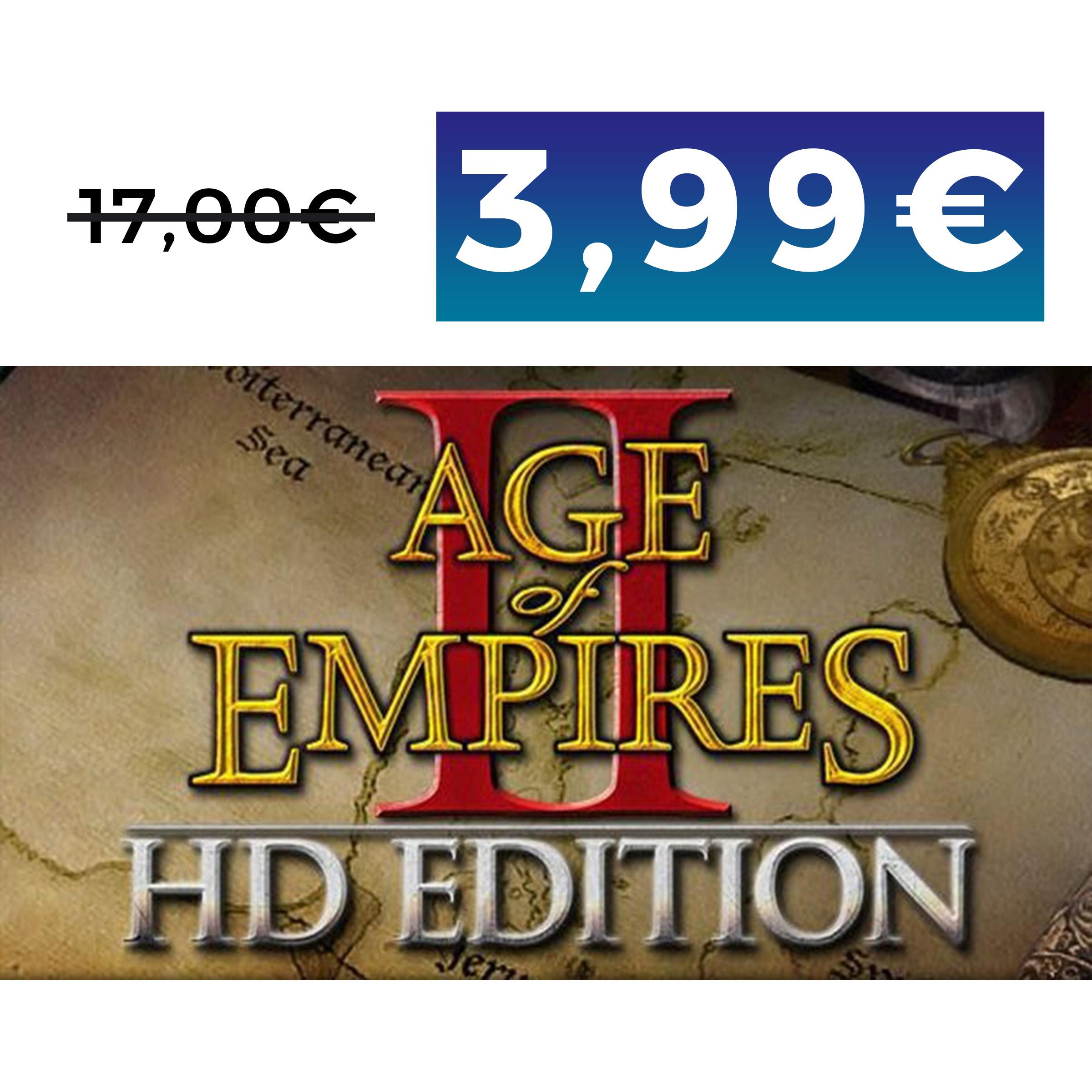 Age of Empires II HD por solo 3,99€ (Steam) (Black Friday