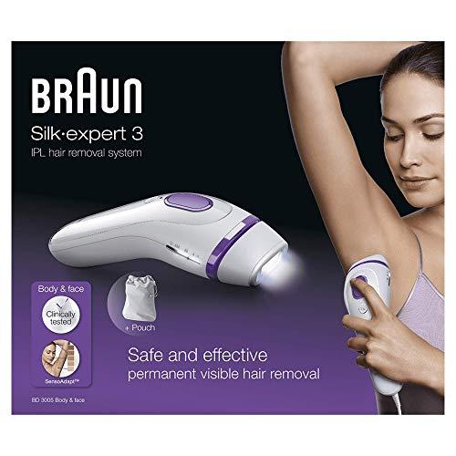 Depiladora de luz pulsada Braun Silk-expert 3