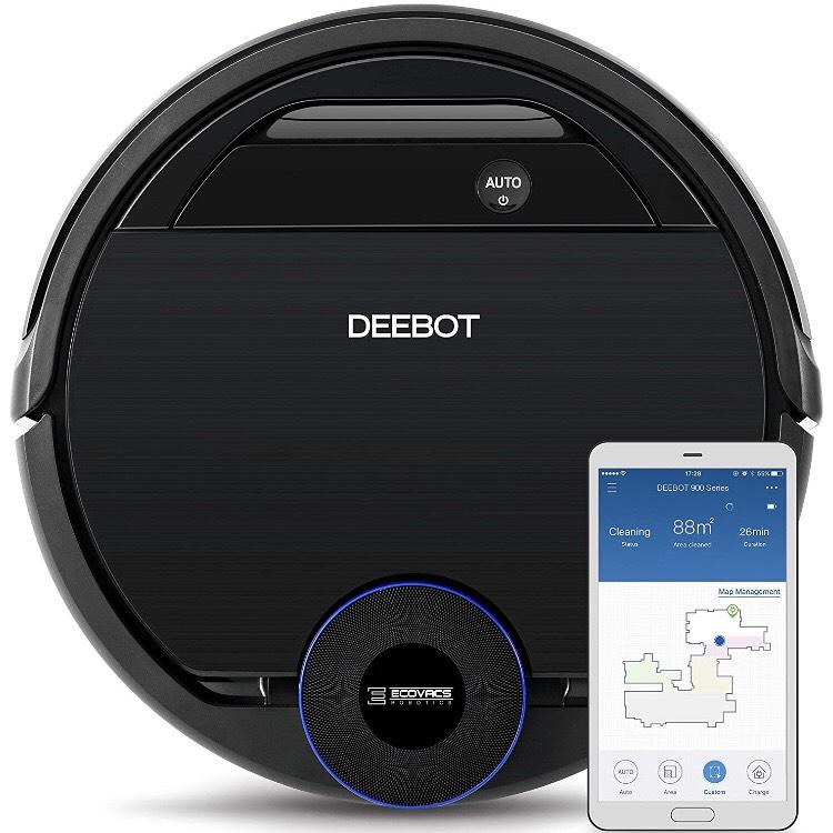 Ecovacs Deebot Ozmo 930 Robot Aspirador, Negro