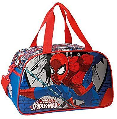 Spiderman Comic Bolsa de Viaje, 45 cm, 27.72 litros