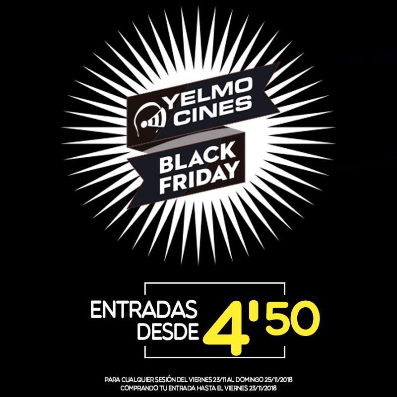 Entrada cines YELMO 4,50€