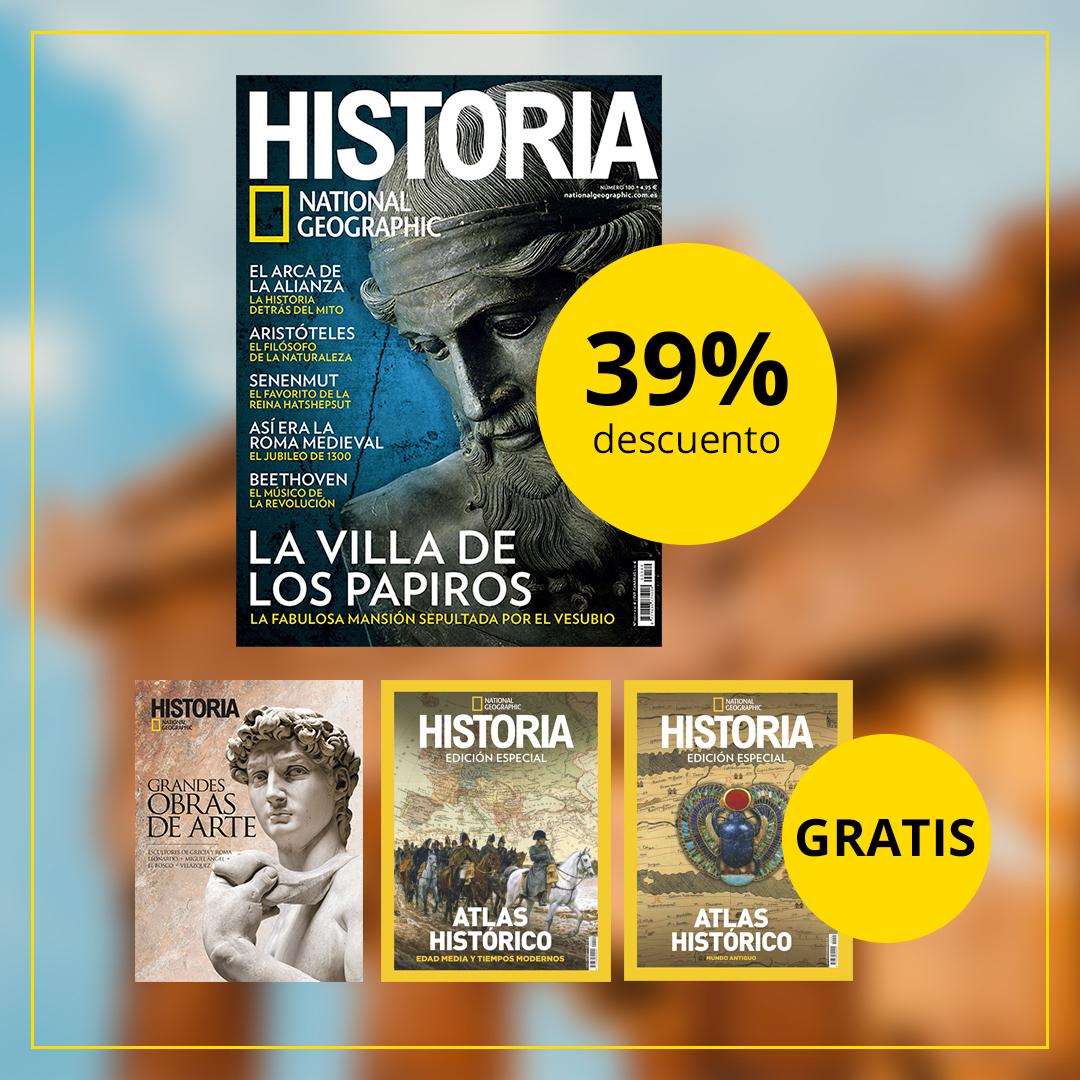 Suscripción Historia National Geographic + 3 Ediciones especiales