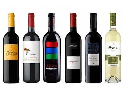 """Caja """"Cata 6 vinos para Navidad"""