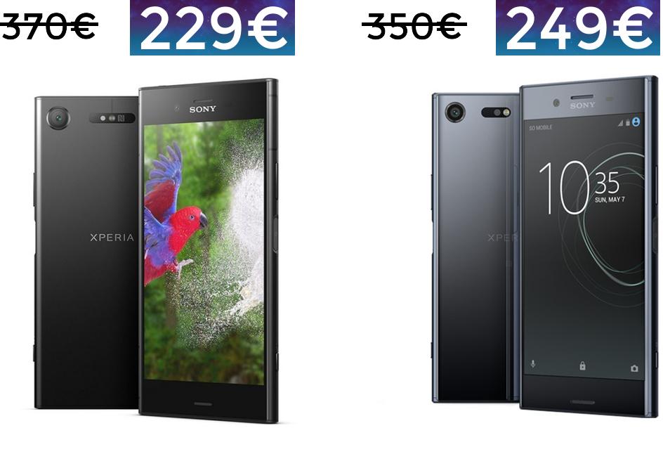 Sony XZ1 y XZ Premium a precio nunca visto