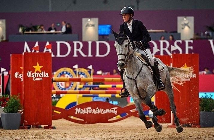 Mesa palco VIP en Madrid Horse Week