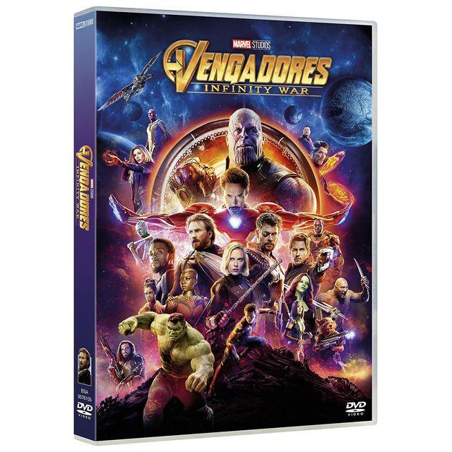 Vengadores: Infinity War (DVD)