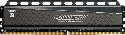 CHOLLAZO - Ballistix Tactical - Memoria RAM de 64 GB (Kit 16 GB x 4, DDR4, 3000 MT/s, PC4-24000, DR x8, DIMM 288-Pin)