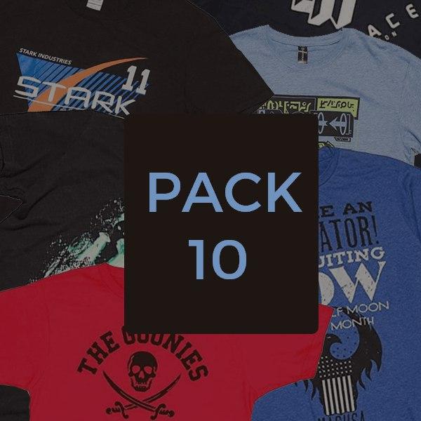 10x Camisetas Geek Sorpresa solo 22.9€