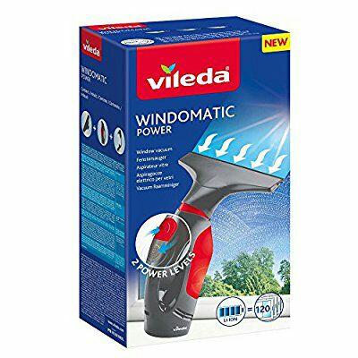 Limpiacristales Vileda Windomatic Power aspirador de ventanas