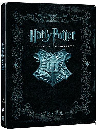 Harry Potter Jumbo - Edición Metálica [DVD] Incluye las 8 películas de la saga