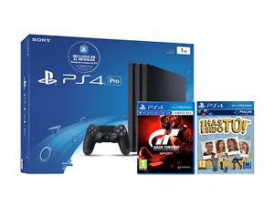 Descuento Pro! PS4 PRO 1TB Con GT Sport