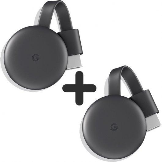 Pack 2 Google Chromecast 3