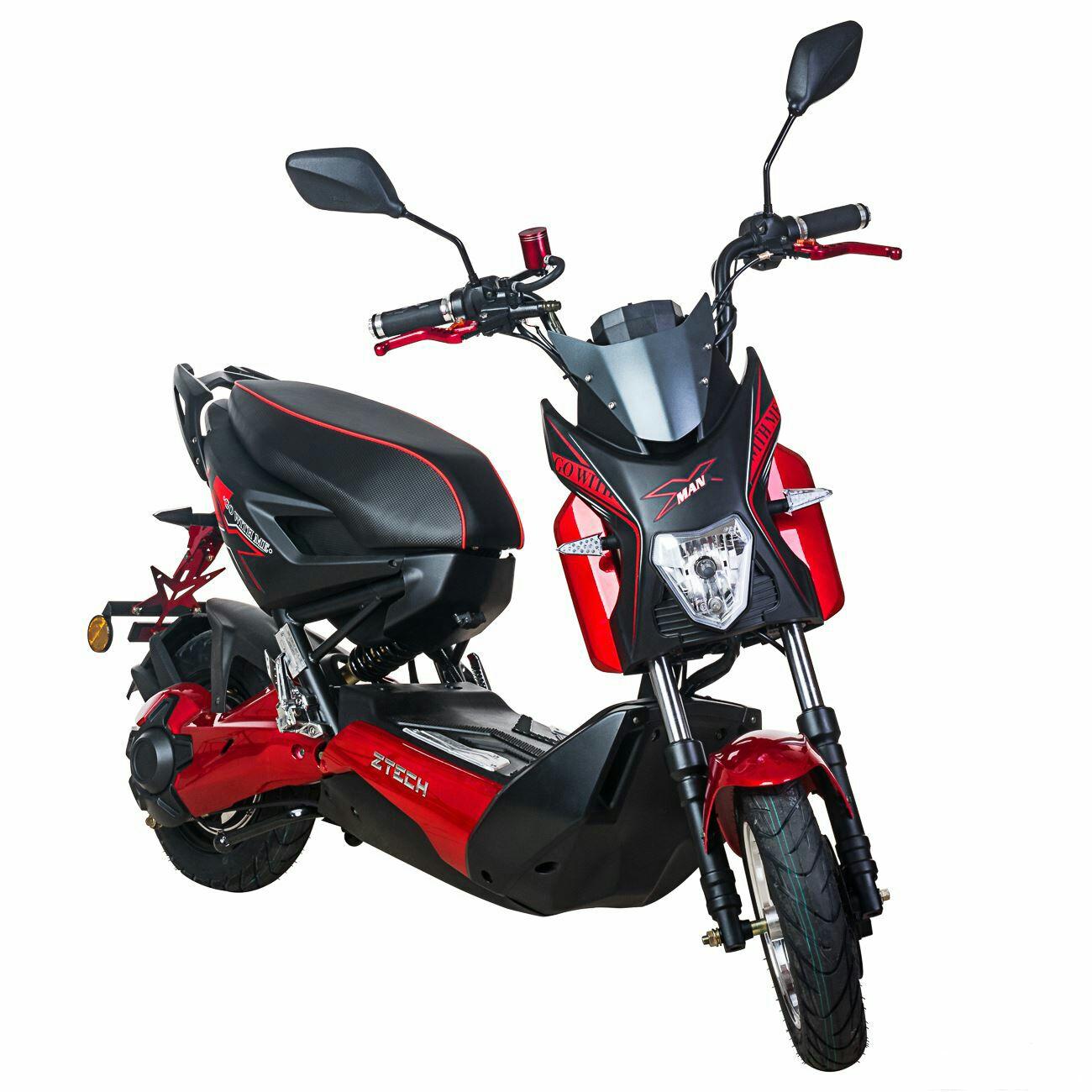 Scooter Eléctrico adulto 1200W Ciclomotor El scooter 45km/h