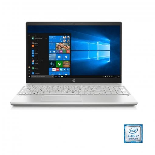 Portátil HP 15-CS008NS con i7, 16GB, 1TB + 128GB, GF MX150 2GB, 39,62 cm - 15,6''