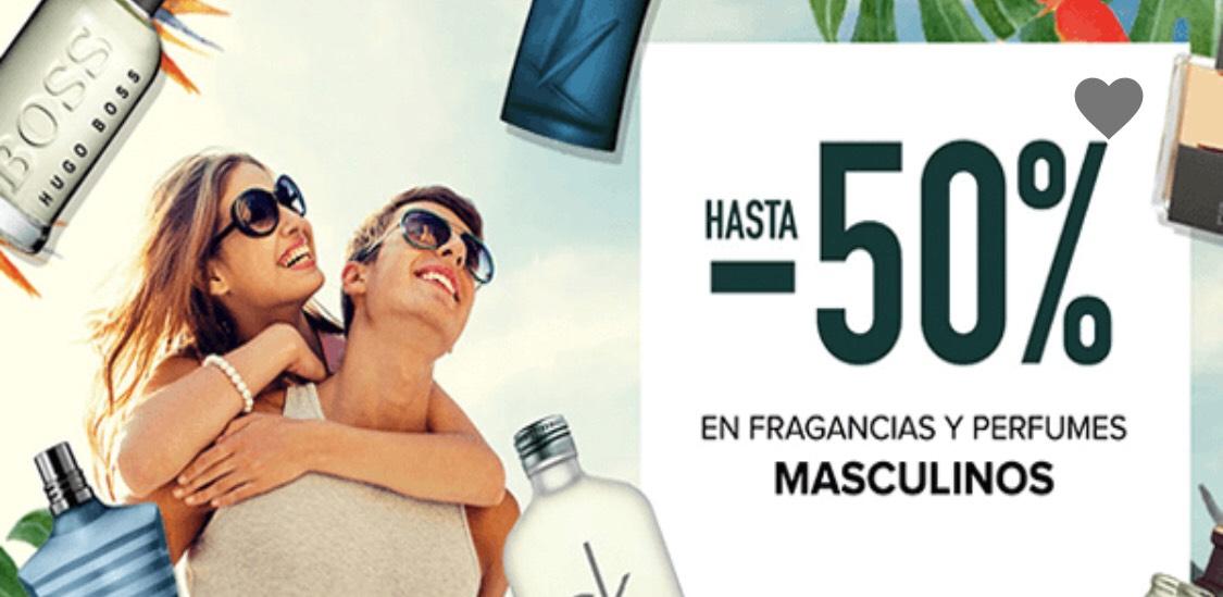 DRUNI - Hasta 50% en perfumes masculinos
