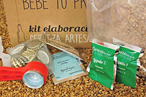 ¡Oferta del Día en amazon! Kit de elaboración de cerveza #Cervezanía sólo 44.90 euros. 3 variedades.