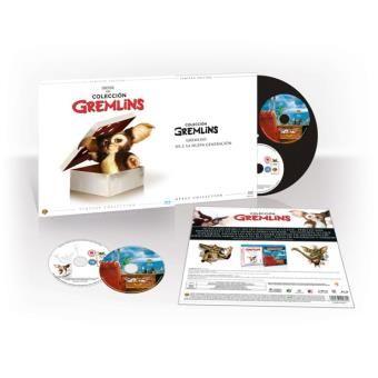 Pack Gremlins - Ed Limitada Vinilo - Blu-Ray