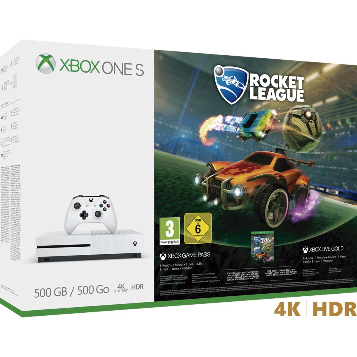 Xbox One S 500 GB + Rocket League