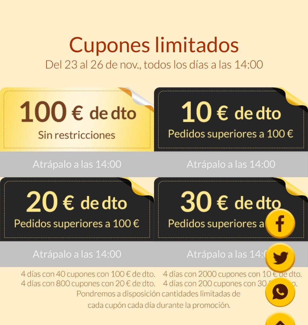 CUPÓN 100 EUROS XIAOMI (sin compra mínima) sólo para los más rápidos!