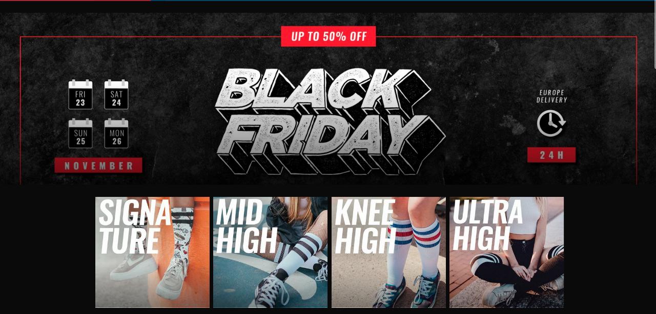 American Socks - Hasta el 50% de descuento en su web