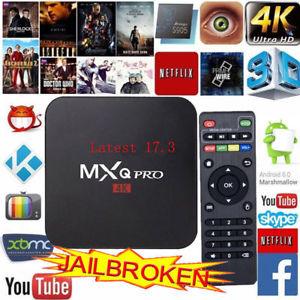 Android TvBox MXQ Pro 4K S905X