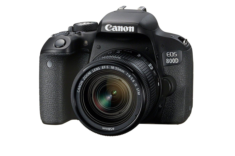 Cámara Canon EOS 800D Digital SLR + EF-S 18-55mm f/4-5.6 IS STM Lens Kit